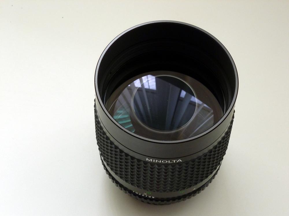 Minolta Rokkor 250mm F5 6 Mirror Lens